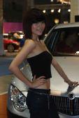 2009重庆车展现场模特-- 8