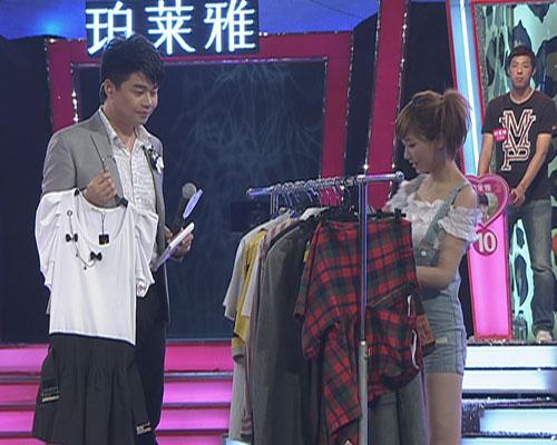 图:《为爱向前冲》联播季――志玲挑选服装