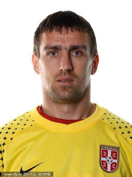 2010年世界杯塞尔维亚国家队官方标准照