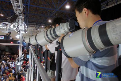 P&E 2010:拍到爽 佳能全系列镜头单反试拍
