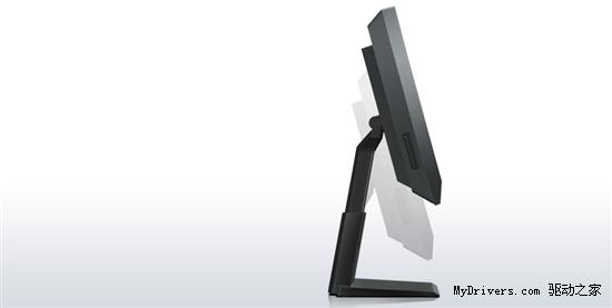 支架可换似显示器 联想推23寸触摸一体机