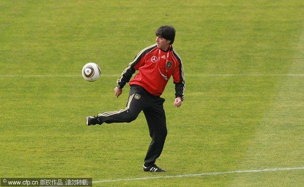 德国训练备战世界杯