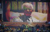图文:南非世界杯盛大开幕 曼德拉视频送上祝福