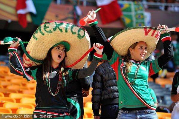 01墨西哥美女球迷