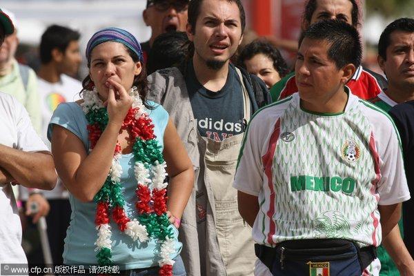 墨西哥球迷集结