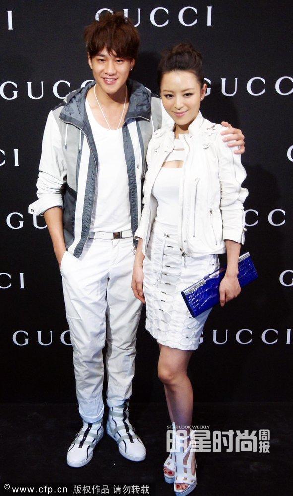 5月10日郑州,奢侈品牌Gucci的开幕酒会