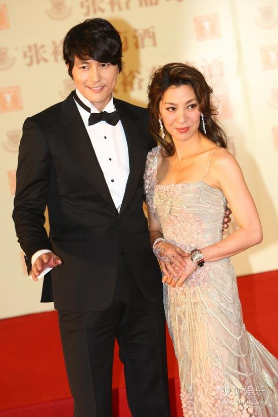 图:第13届上海电影节红毯 郑雨盛、杨紫琼