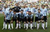 图文:阿根廷VS尼日利亚 阿根廷首发