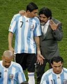 图文:阿根廷VS尼日利亚 老马面授机宜