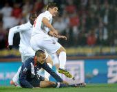 图文:小组赛英格兰VS美国 杰拉德进球瞬间