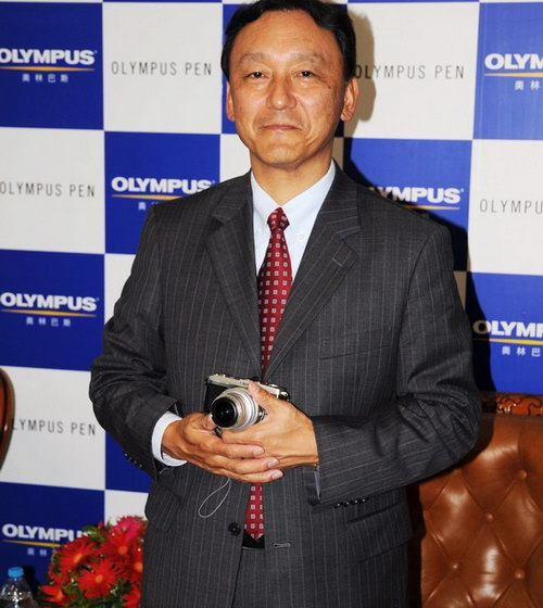 奥林巴斯(上海)映像销售有限公司副总经理半田正道