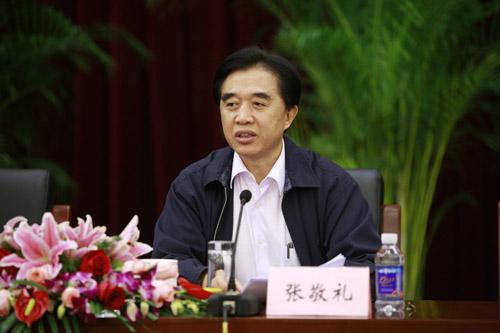 资料图片:国家药监局原副局长张敬礼