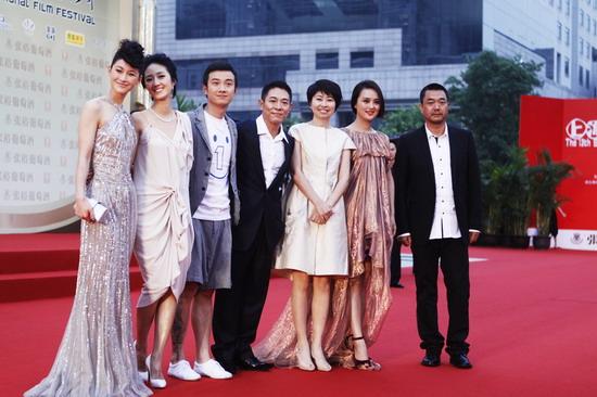 《海洋天堂》全体主创亮相上海电影节