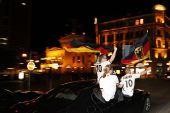 图文:德国4-0横扫澳大利亚 德国球迷兜风狂欢