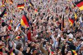 图文:德国4-0横扫澳大利亚 德国球迷气势磅礴