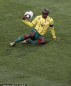 日本1-0喀麦隆精选:埃托奥做瑜伽 斗莉王下跪