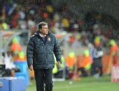 图文:科特迪瓦VS葡萄牙 主教练奎罗兹