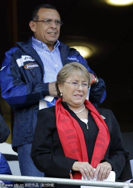 智利前总统和洪都拉斯总统