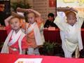 《七小罗汉》上海宣传 功夫小子各有绝活
