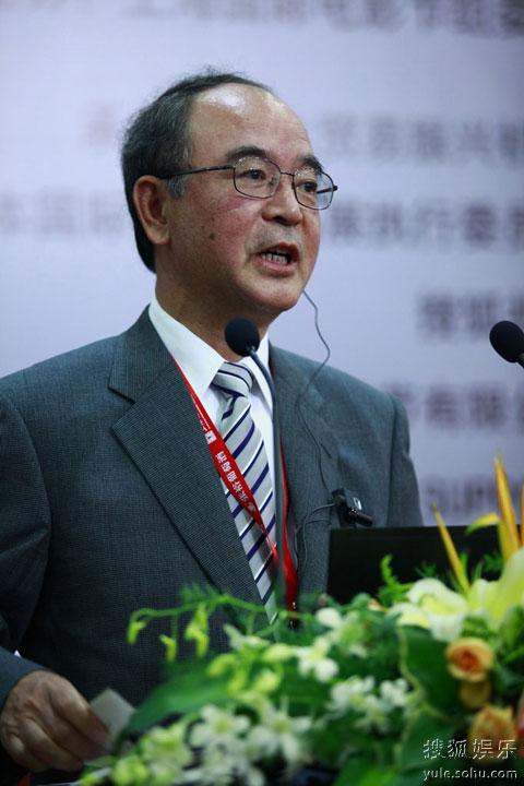 图:第十三届上海电影节 新媒体论坛 嘉宾发言