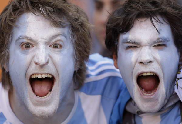 阿根廷疯狂球迷