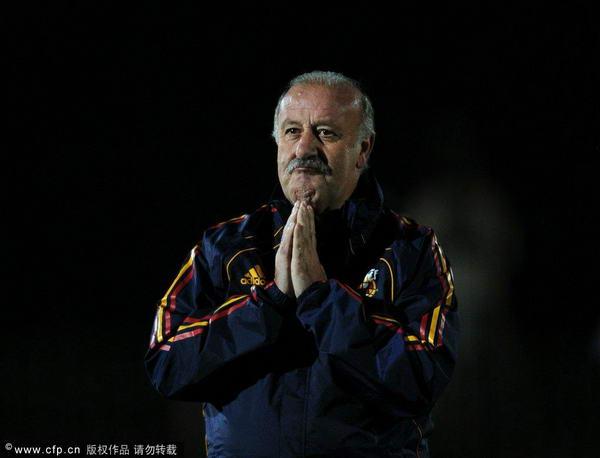 主教练博斯克祈祷获胜