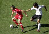 图文:德国0-1塞尔维亚 赫迪拉防守