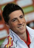 幻灯:西班牙国家队召开新闻发布会 托雷斯出席
