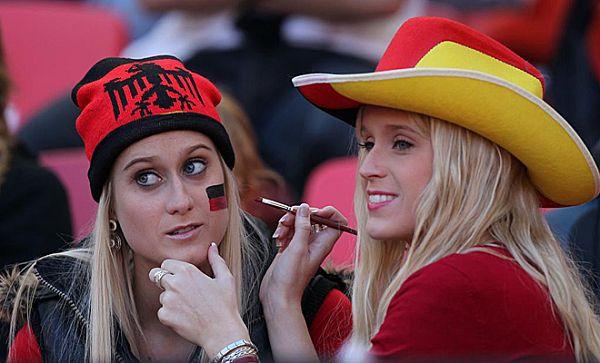 图文:世界杯各国美女球迷大赏