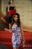 图:第13届上海电影节闭幕式红毯 萨宾娜