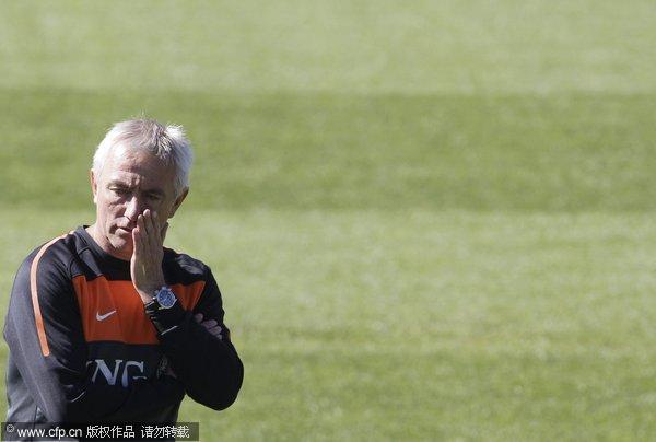 图文:荷兰训练备战 伯特-范马尔维克