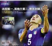 媒体评意大利1-1新西兰 潇湘晨报