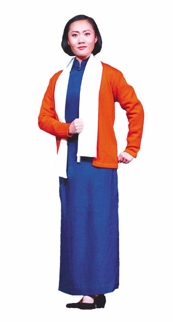 梅兰芳 周婧在/2007年末,当程派传人张火丁带着国家京剧院的新秀周婧在梅兰芳...