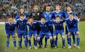 图文:小组赛希腊VS阿根廷 阿根廷队首发阵容