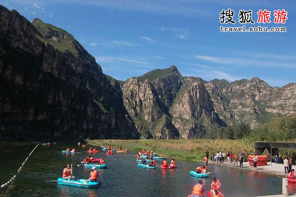 野三坡漂流:美景与刺激双重收获