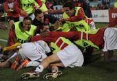 高清图:多诺万补时绝杀 美国1-0压英格兰获第1