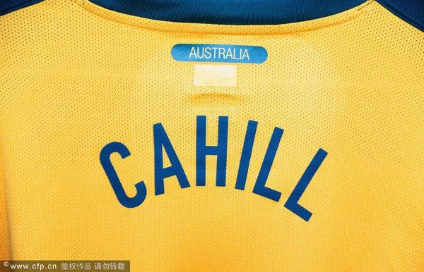 卡希尔球衣