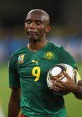 高清图:埃托奥泪别南非 猎豹世界杯生涯或终结
