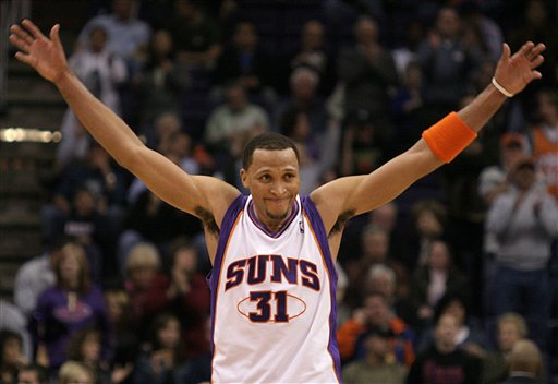 NBA球星肖恩-马里昂