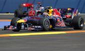 图文:F1欧洲站第二次练习 巴顿追赶韦伯