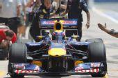 图文:F1欧洲站第二次练习 韦伯进站演练