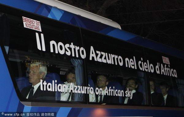 卫冕冠军意大利打道回府