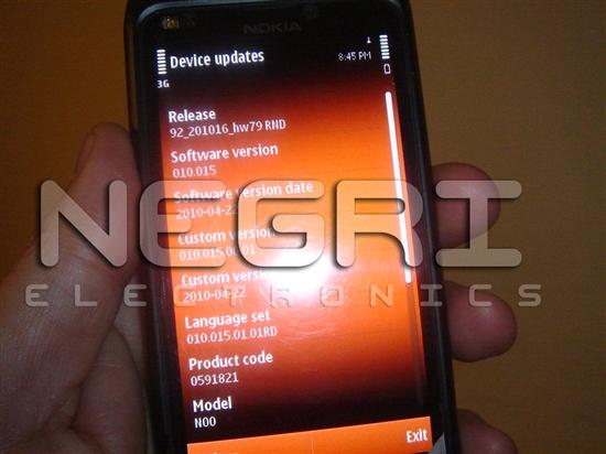 诺基亚N9真机高清图片曝光
