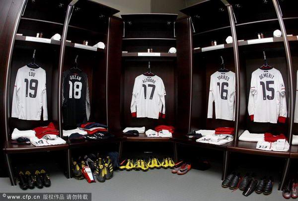 美国队更衣室