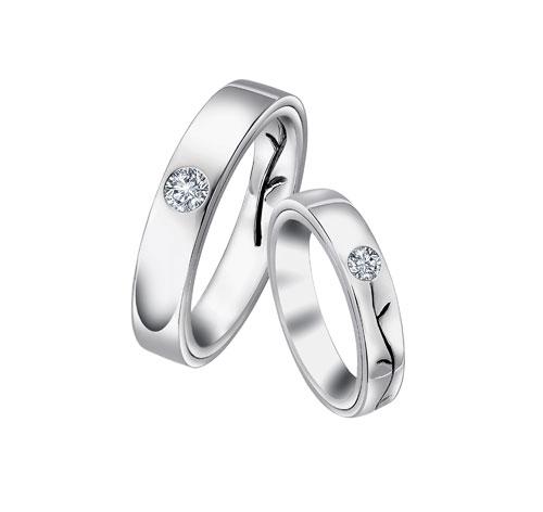 """leo diamond """"爱的种子""""单颗钻石戒指"""