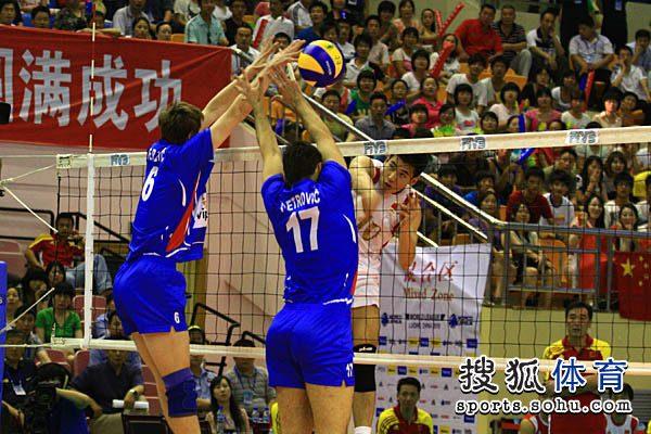 中国男排2-3憾负塞尔维亚