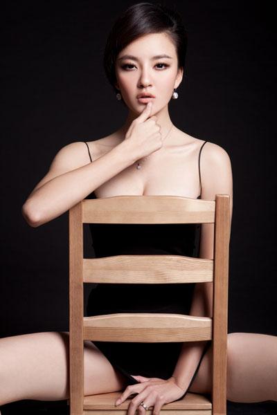 刘雨欣靓丽写真