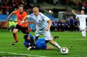 幻灯:1/8决赛荷兰VS斯洛伐克 维特克点球破门