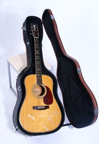 沙宝亮/沙宝亮——伴随自己十几年的吉他