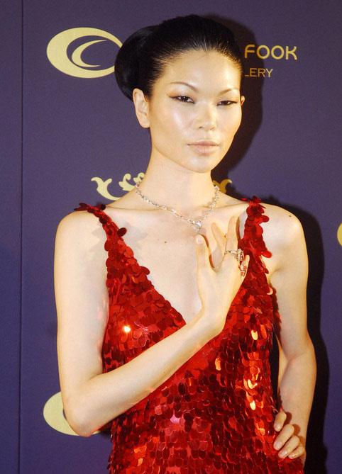 眼中的美女——吕燕-老外为何对娶亚洲丑女情有独钟图片
